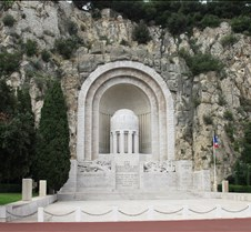 Monument Aux Morts, Nice France