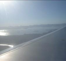 LAN 755 - Wing shot after Takeoff
