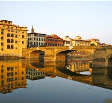 Sunrise on the Arno River