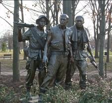 Vietnam War Memorial Statue
