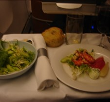 BA 247 - Dinner - Salad