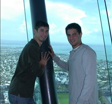 Josh & Bryan Holding up Skytower