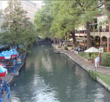Riverwalk San Antonio, Texas Different views of The Riverwalk in downtown San Antonio, Texas
