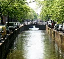A Canal in Delft Holland