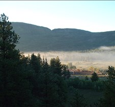 Colorado - Mist over the Conejos Valley