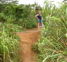 Trail to Kipu Falls