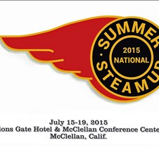 __2015 National Summer Steamup Sacramento Updated  09-17-2015. The 2015 National Summer Steamup was the 19th year for this event (13th at the Lions Gate Hotel) and had 168 steamers attend. Of the steamers attending, AZ=3, CA=123, CO=4, MD=1, NJ=3, NV=8, NY=1, OR=6, PA=3, TX=1, UT=1, WA=10, Austra
