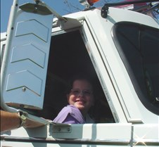 Erin loved the fire truck
