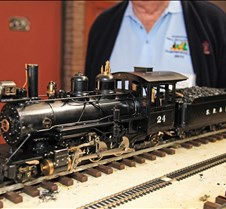 Jim Pitts' coal fired SR&RL 24 loco