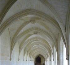 Abbaye le Fontevraud - Cloister Hall