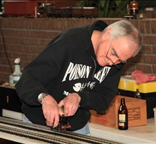 Joel Neshkin & His Hornby Clockwork Tank