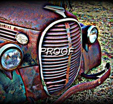 045  Old Truck HDR