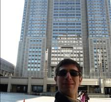 Josh in Front of Tokyo Metropolitan Gove