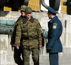 Russian Kremlin Security Guards