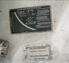 AA B762 Gear Service Chart