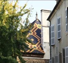 Burgundian Polychrome Roofs, Dijon, Fr.