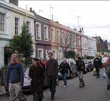 colorful homes on Portobello Road