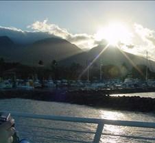 Looking Back at Lahaina Harbor