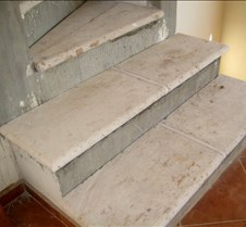 Canterra stone stairs