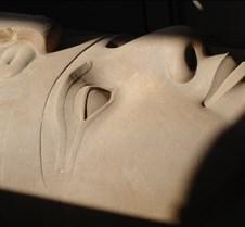 Ramses' face