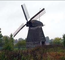 Countryside Russian Windmill
