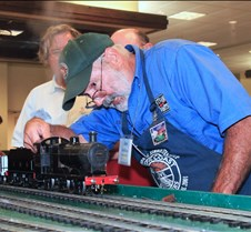 Jim McDavid Fires His Live Steam Loco