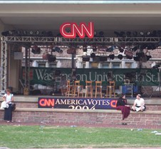 CNN Stage in Brookings (Up Close)