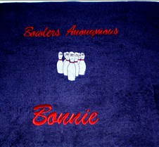 Close up Bowling Towel