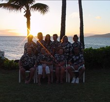 Maui Crowd 2005 at Sunset- 1