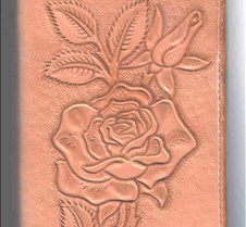 rose notebook