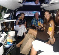 On our way to Temecula in the Limo
