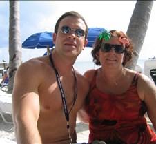 Me and Sylvia at Casa Beach