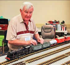 Brian Beckham & His 2-6-4 4MT Loco