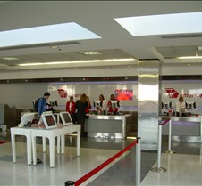 Virgin America Check-In at LAX