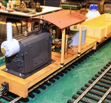 Steve Shyvers' Scratch Built Train