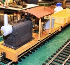 Steve Shyvers' Scratch Built Train