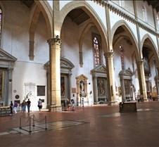 Interior of Santa Croce
