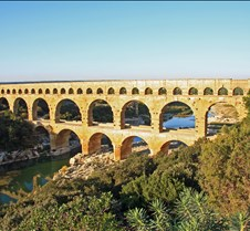 The Pont du Gard Roman Aqueduct, France