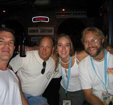 Me, Dave, Jill, Ken at Willie T's