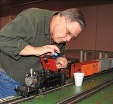 Jim Gabelich, His 2-6-2 Porter Tank Loco