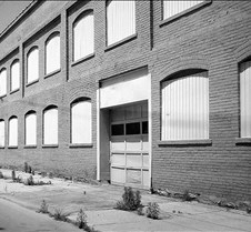 Old Factory B&W