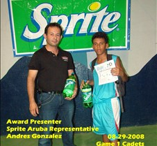Sprite Players of the Game 2008 What a year we had and Sprite's been with us all they way.