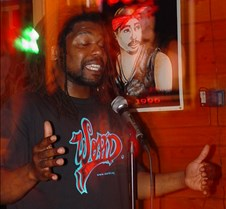 Chris Johnson, slam poet