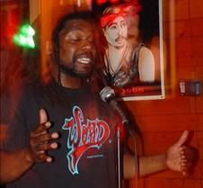 Chris Johnson, slam poet