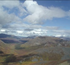 Alaska:  Helicopter over Denali