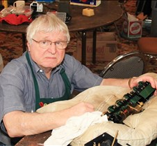 Bill Payne Working On His Loco