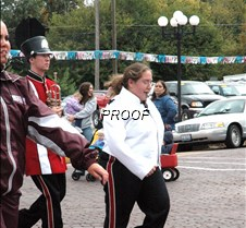 Band drum major
