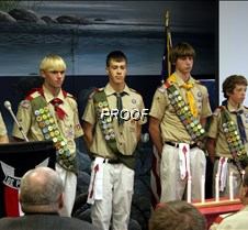 Boy Scout Eagle Ceremony North Ridgeville, Ohio Boy Scout Troop 153 Eagle Ceremony