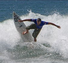 Matt Jensen, 4th In USA Amateur Surfing