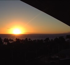 Sunset from 4 Seasons Maui Lanai
